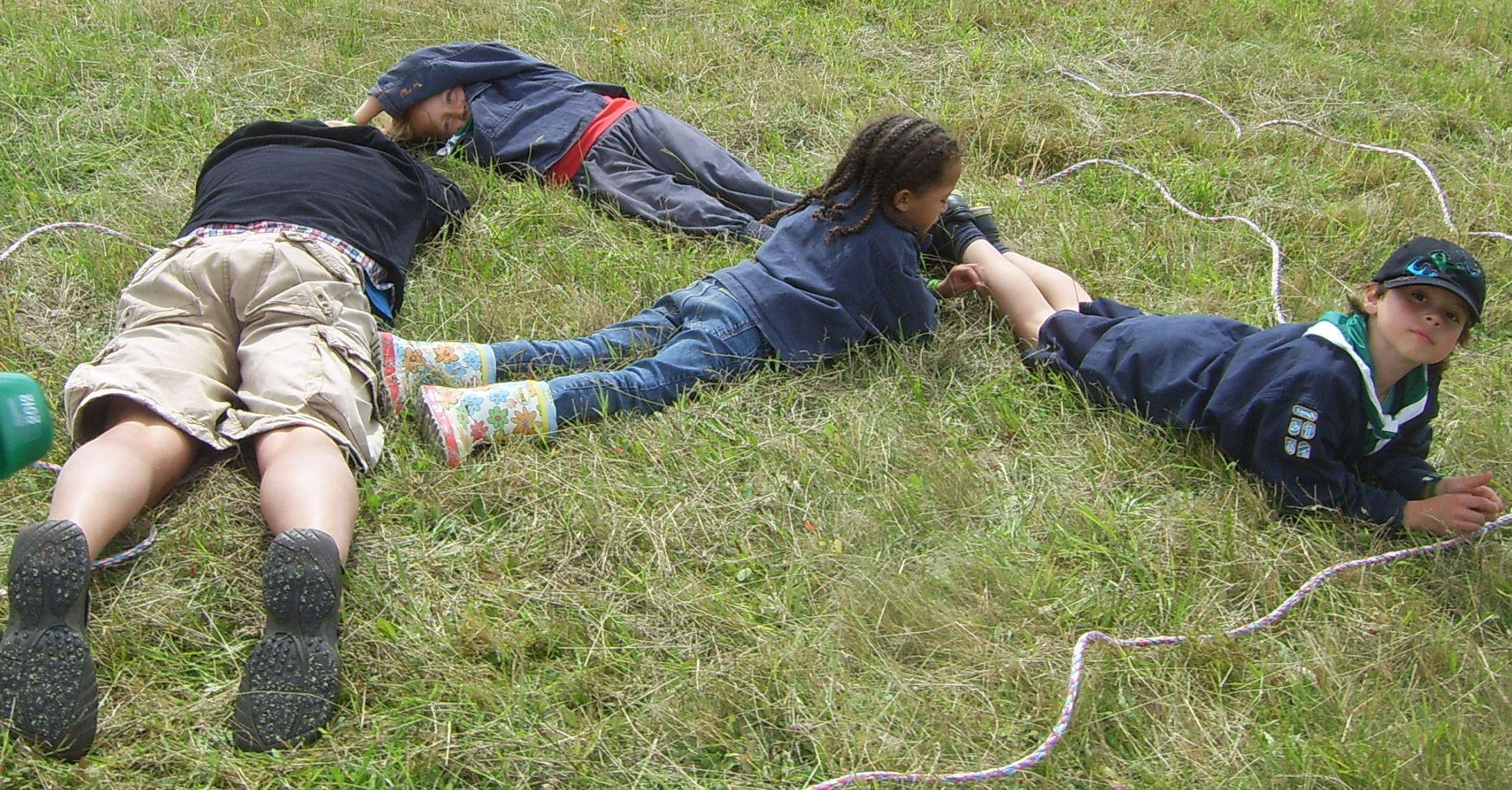 Sproggrens løb på Spejdernes Lejr 2012