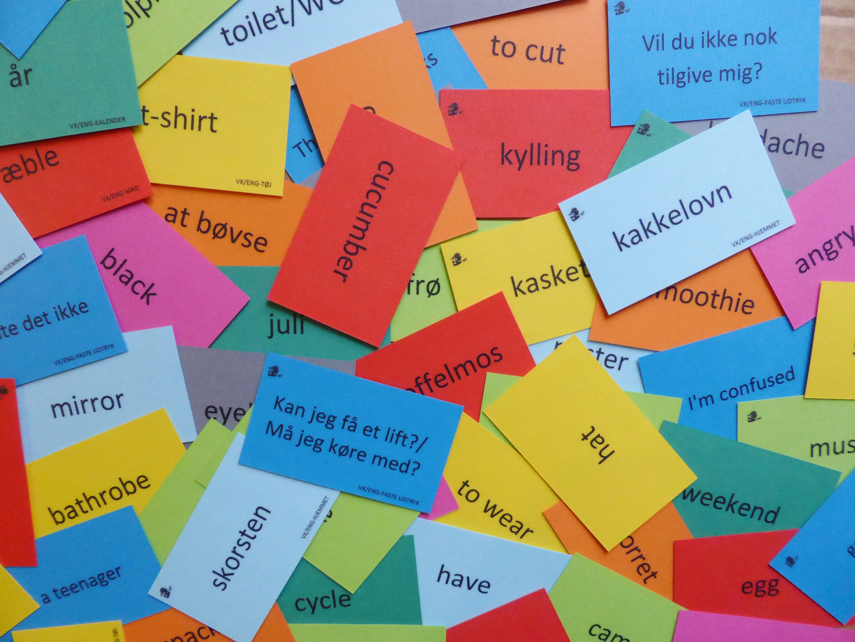engelsk kort